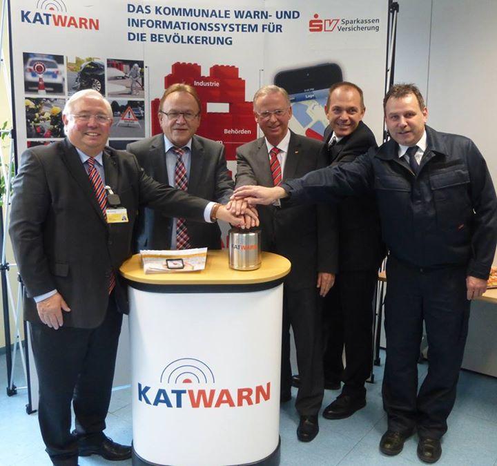 Der Start für Katwarn erfolgte 2014. Bis heute haben mehr als 5.000 Bürgerinnen und Bürger die App heruntergeladen.