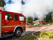 Waldbrandübung Burgjoß 16.09.2017